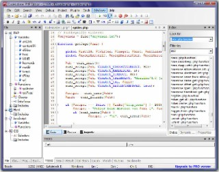 CodeLobster PHP Screenshot