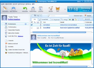 IncrediMail Screenshot
