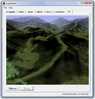 ScapeMaker Screenshot