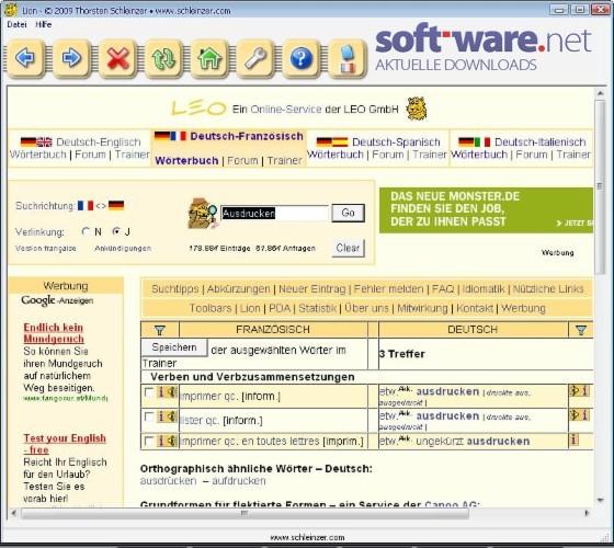 Online Uebersetzung Deutsch Englisch