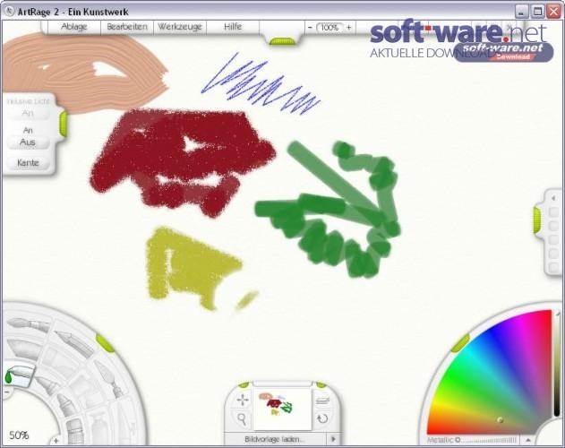 artrage download windows deutsch bei soft ware net. Black Bedroom Furniture Sets. Home Design Ideas