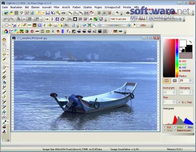 digifoto download windows deutsch bei soft ware net. Black Bedroom Furniture Sets. Home Design Ideas