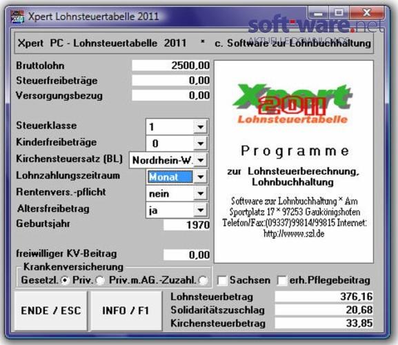 Xpert Lohnsteuertabelle 2013 - Download (Windows / Deutsch ...