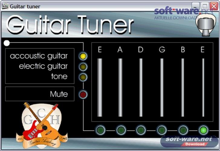 guitar tuner download windows deutsch bei soft ware net. Black Bedroom Furniture Sets. Home Design Ideas