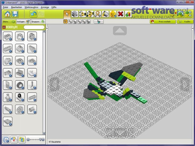 how to get lego digital designer
