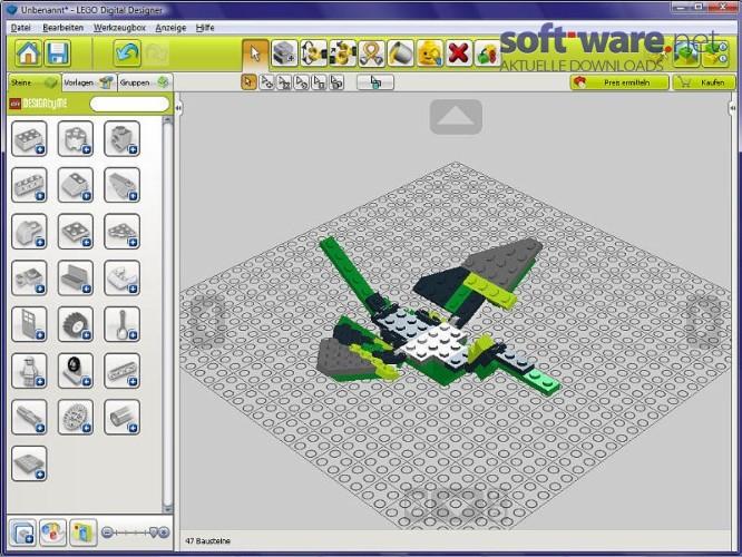 LEGO Digital Designer 4.3.5   Download (Windows / Deutsch) bei