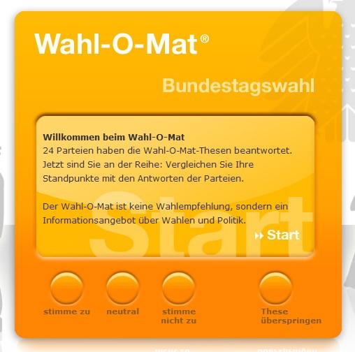 Wahl O Mat Postillon