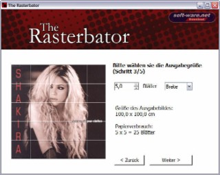 Rasterbator Screenshot
