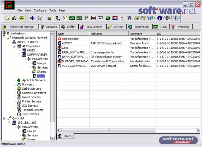 Cain Software Download