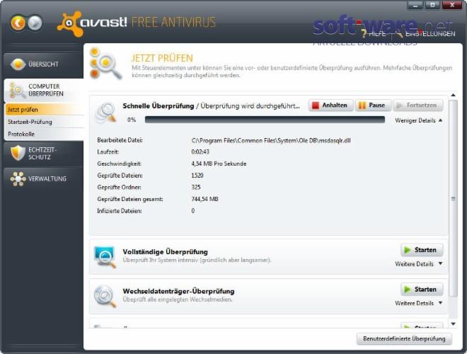 Avast Antivirus Download Windows Deutsch Bei Soft
