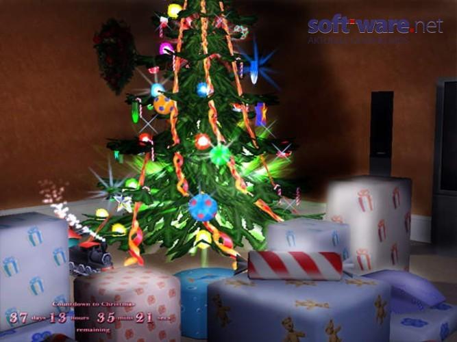 3d frohe weihnachten bildschirmschoner download windows. Black Bedroom Furniture Sets. Home Design Ideas