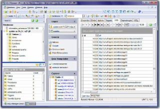SQL Manager MySQL Screenshot