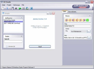 CDInterface Screenshot