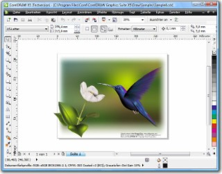 CorelDRAW Screenshot
