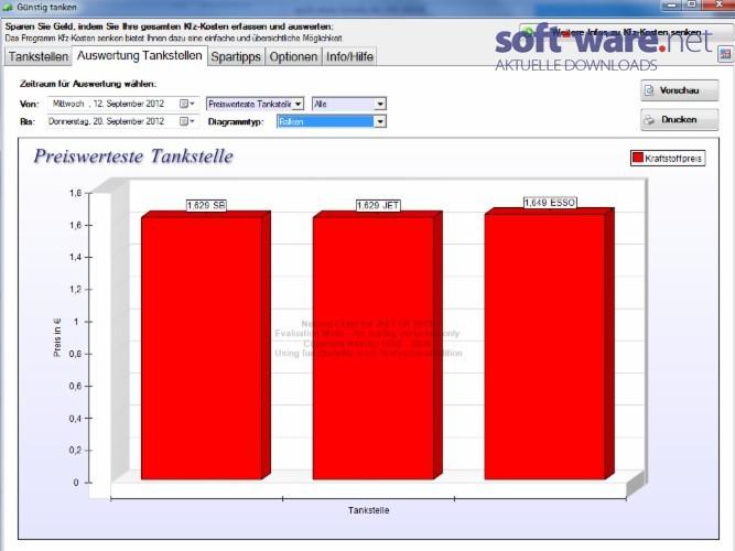g nstig tanken 1 1 2 download windows deutsch bei soft ware net. Black Bedroom Furniture Sets. Home Design Ideas