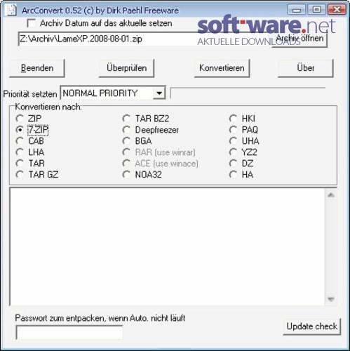 convert .zip to .tar.gz windows download