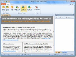 Feed Writer Screenshot