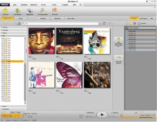 MAGIX MP3 Maker Screenshot