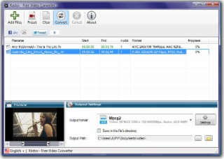 Video Converter Screenshot