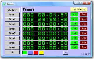Timers Screenshot