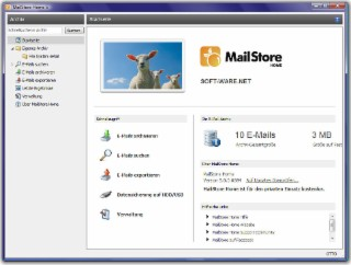MailStore Screenshot