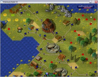 Widelands Screenshot