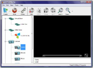 VirtualDrive Screenshot