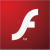 Adobe Flash Player (Chrome / Firefox / Opera) Logo