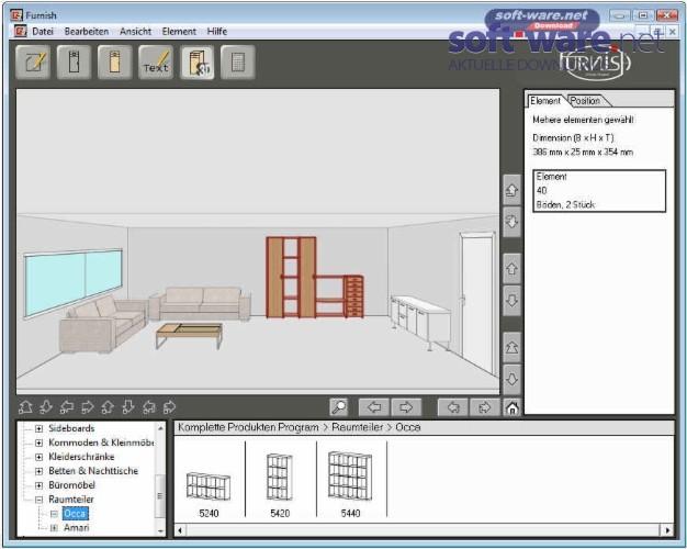 boconcept furnish 10 11 v2 7 5 download windows deutsch bei soft ware net. Black Bedroom Furniture Sets. Home Design Ideas