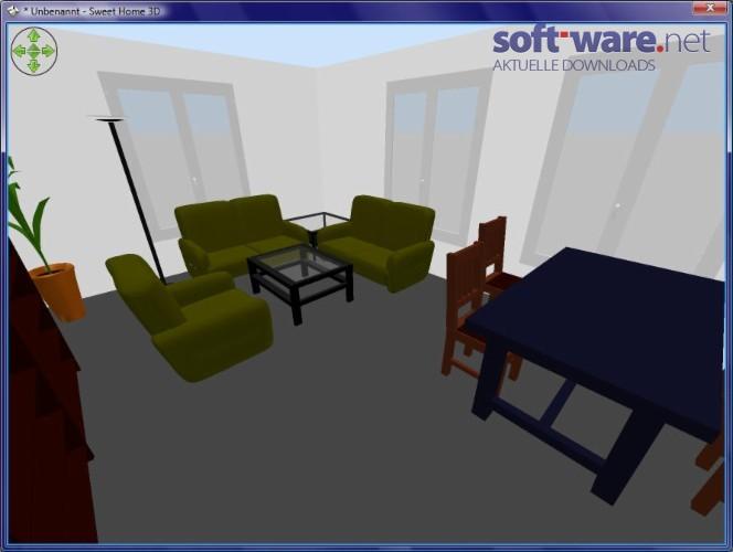 Sweet home 3d download windows deutsch bei soft ware net for Wohnraumplaner kostenlos