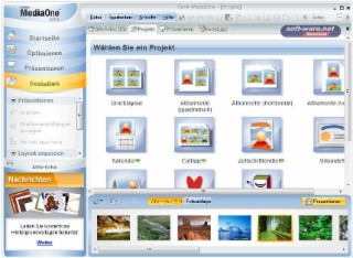 Corel MediaOne Screenshot