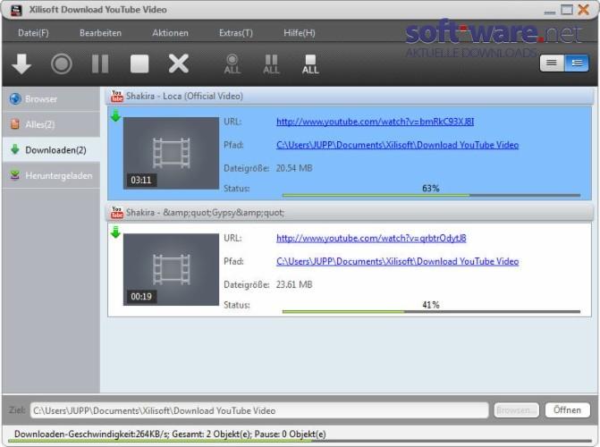 youtube video downloaden und bearbeiten