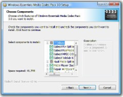 Windows Essentials Codec Pack