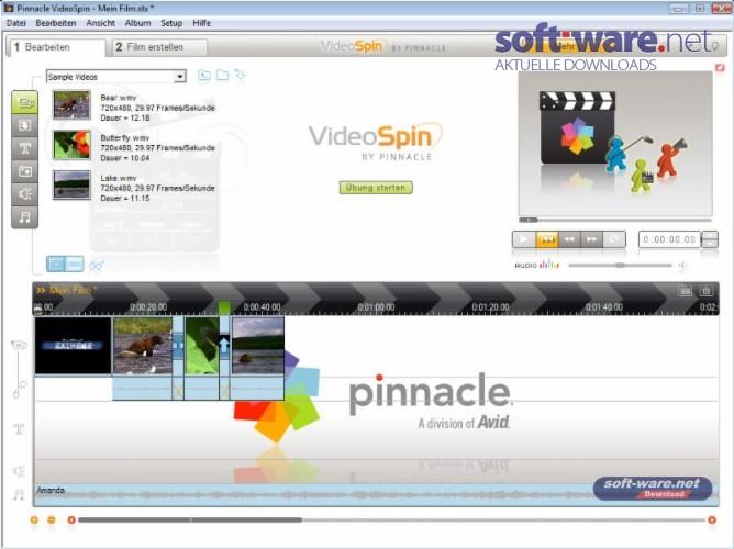 WINDOWS GRATUIT TÉLÉCHARGER PINNACLE XP GRATUIT VIDEOSPIN