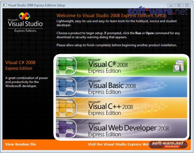 Download visual c   express edition