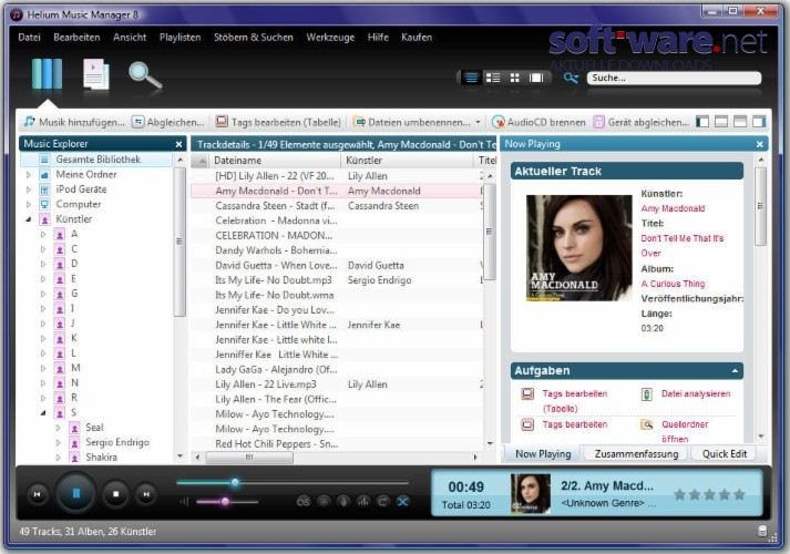 Helium music manager 8 6 3 build 10770 network edition